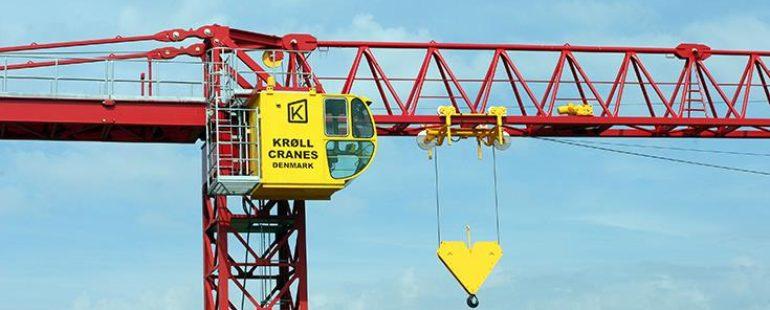Krøll Cranes A/S nu medlem af Dansk Kran Forening