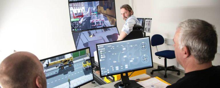 Aktiv sikkerhed: BMS investerer i kransimulator