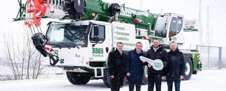 BMS køber første Liebherr Mobilkran LTM 1090-4.2